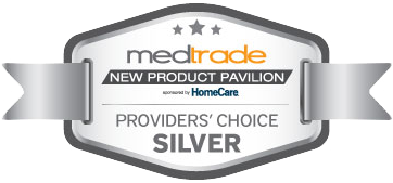 Medtrade Awards Ribbons Silver